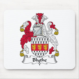 Blythe Family Crest Mouse Pad