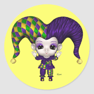 Blythe's World Mardi Gras - Stickers