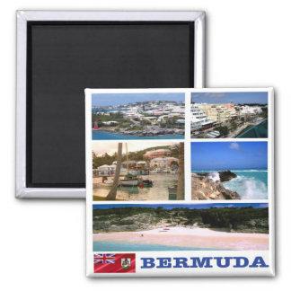 BM - Bermuda - Mosaic Collage Magnet