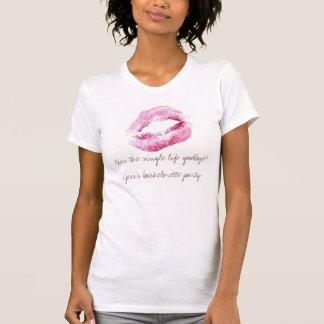 BM, Kiss the single life goodbye!Jess's bache... T-Shirt