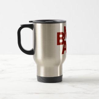 BMAC Logo Stainless Steel Travel Mug