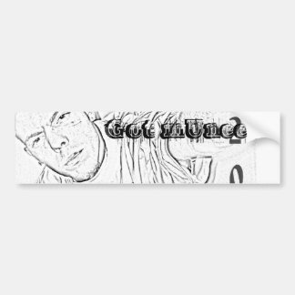bmUnee Bumper Sticker