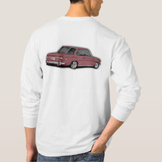 BMW 2002 Classic Car in Color Malaga T-Shirt