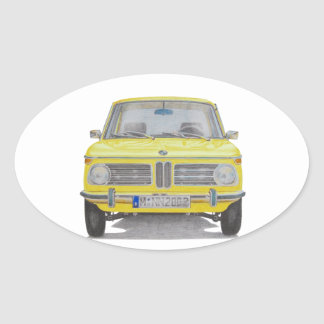 BMW 2002 OVAL STICKER