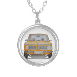 BMW 2002 SILVER PLATED NECKLACE