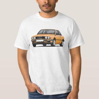 BMW E30 (3-series), illustration, orange T-Shirt