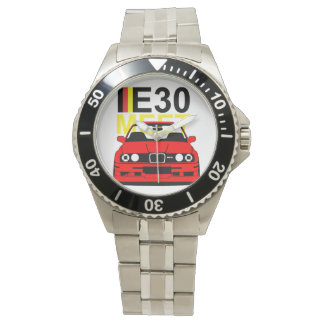 BMW E30 Custom Stainless Steel Watch Bracelet