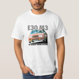BMW E30 M3 DTM Racer (Bastos) Black Type T-Shirt