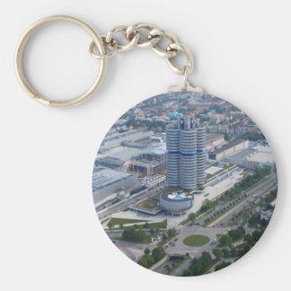 BMW Headquarters in Munich Keychain
