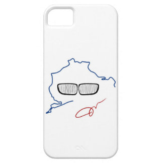 BMW Kidney Grill / Nurburgring Edition (White) iPhone 5 Covers