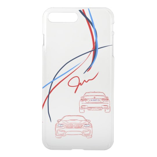 BMW M3/M4 Stripes iPhone 7 Case