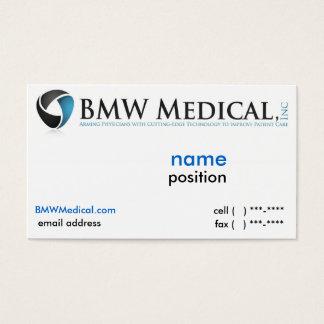 BMW Medical Card Design