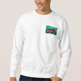 BMW Motorcycle for Basic Sweatshirt, White Sweatshirt