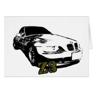 BMW Z3 goods Card