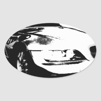 BMW Z3 goods Oval Sticker