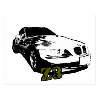 BMW Z3 goods Postcard