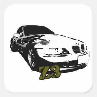 BMW Z3 goods Square Sticker