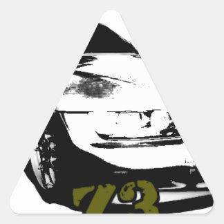 BMW Z3 goods Triangle Sticker