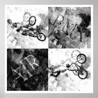 BMX 14, Copyright Karen J Williams Poster