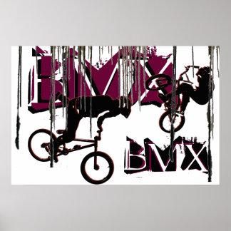 BMX 21, Copyright Karen J Williams Poster