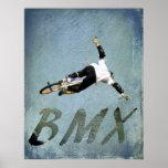 BMX 9, Copyright Karen J Williams Poster