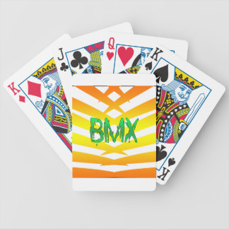 Bmx Bicycle Playing Cards