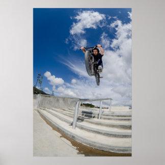 Bmx big air jump poster