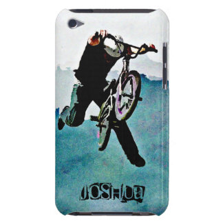 BMX bike freestyle trick stunt rider iPod Touch Cover
