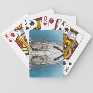 BMX Bike Reflection Playing Cards