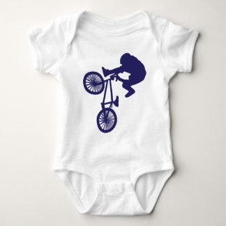 BMX BIKE RIDER BABY BODYSUIT