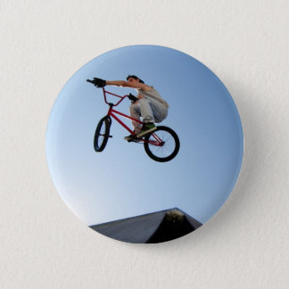 BMX Bike Stunt Table Top 2 Inch Round Button