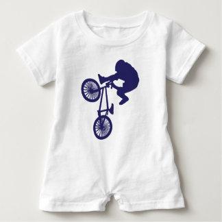 BMX-Biker Baby Romper