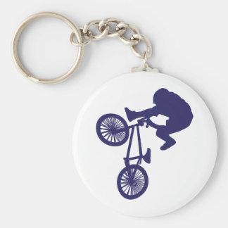 BMX Biker Keychain