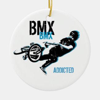 BMX  Christmas Ornament