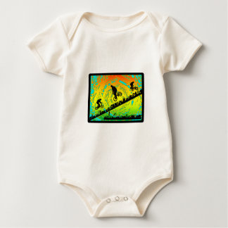 BMX City Baby Bodysuit