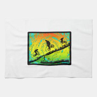 BMX City Kitchen Towel