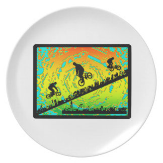 BMX City Plate