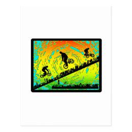 BMX City Postcard