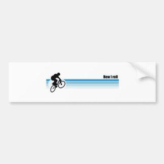 BMX - Comment je roule Autocollant De Voiture