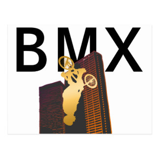 BMX CONTEST POSTCARD