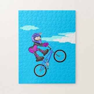 BMX extreme cycling young unemployed in its Jigsaw Puzzle