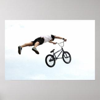 BMX Layed Out, Copyright Karen J Williams Poster