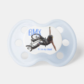 BMX Pacifier, Copyright Karen J Williams Baby Pacifier