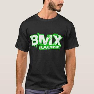BMX RACING GREEN WHITE T-Shirt