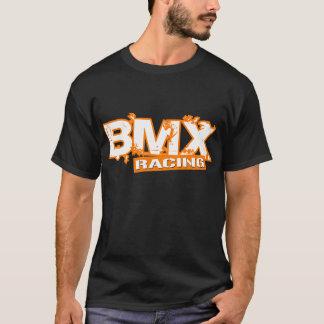 BMX RACING ORANGE WHITE T-Shirt