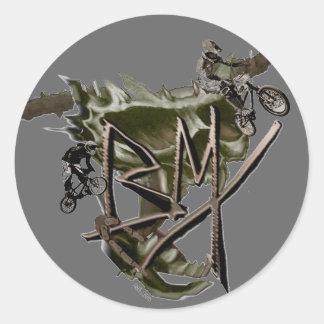 BMX racing sticker 1