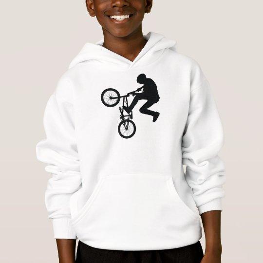 BMX Rider Silhouette