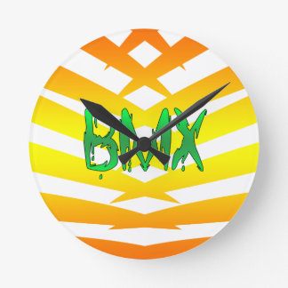 Bmx Round Clock