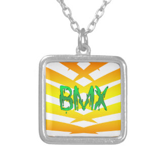 Bmx Silver Plated Necklace