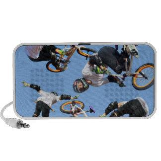 BMX sport, Copyright Karen J Williams Mini Speakers